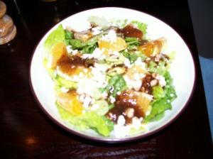 Orange Feta Salad with Balsamic