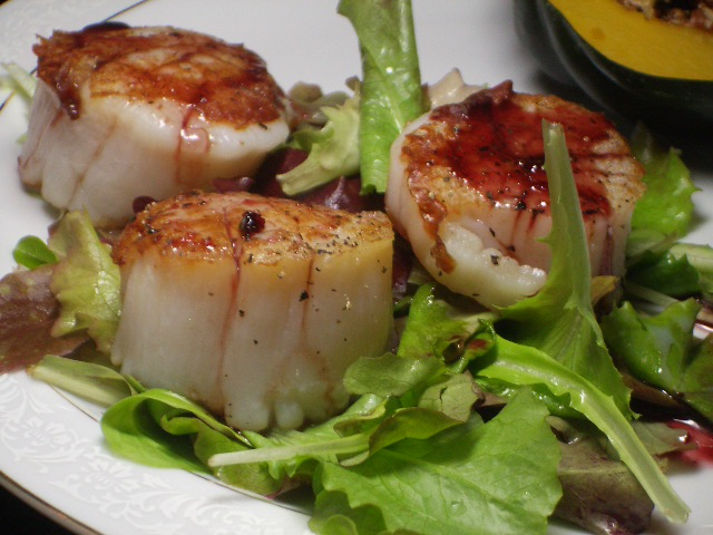 scallops with lemon and vodka pan seared scallops with asparagus and ...