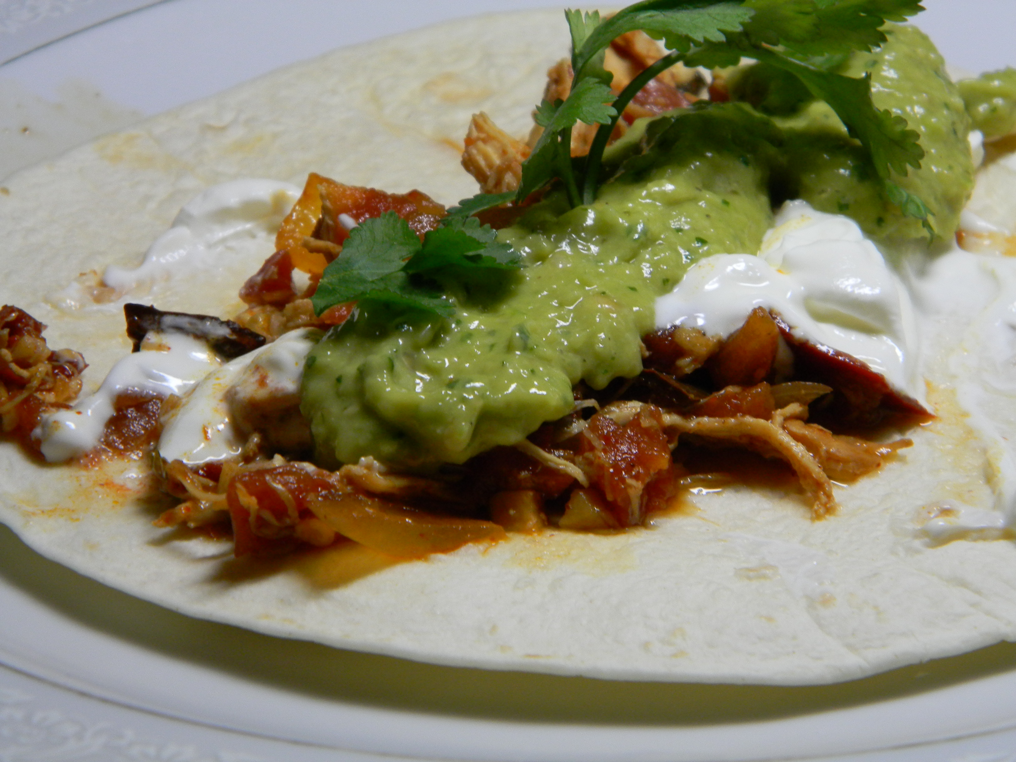 Authentic Chicken Tacos 2frugalfoodies