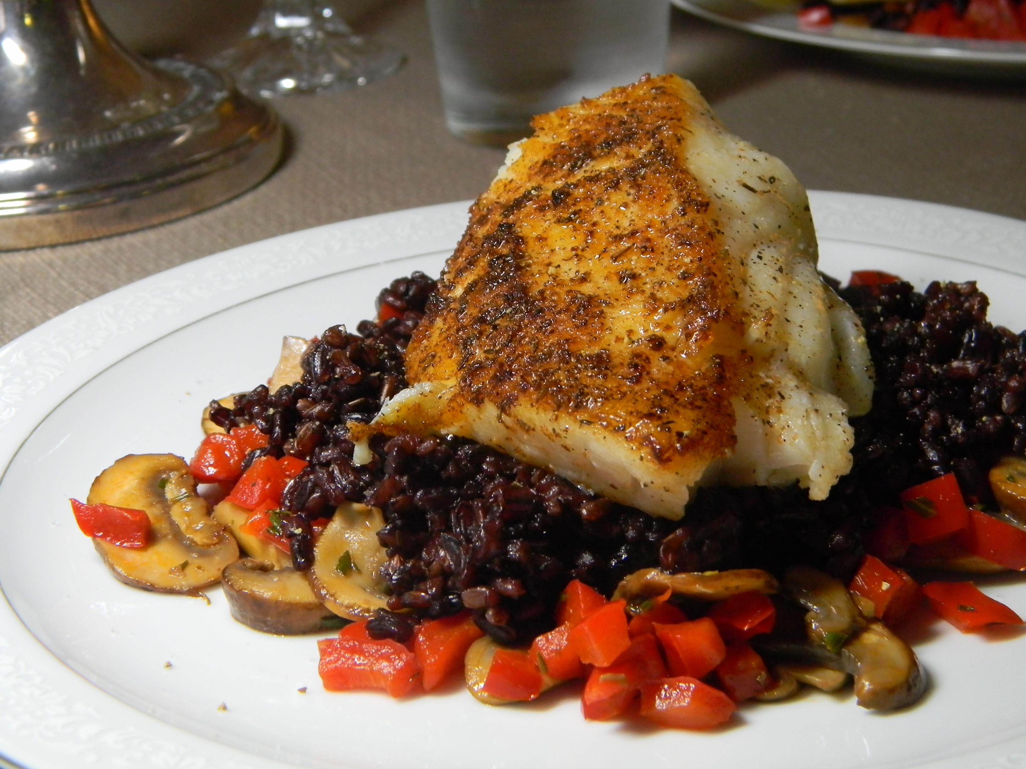 Bronzed black grouper 2frugalfoodies for Grouper fish recipes