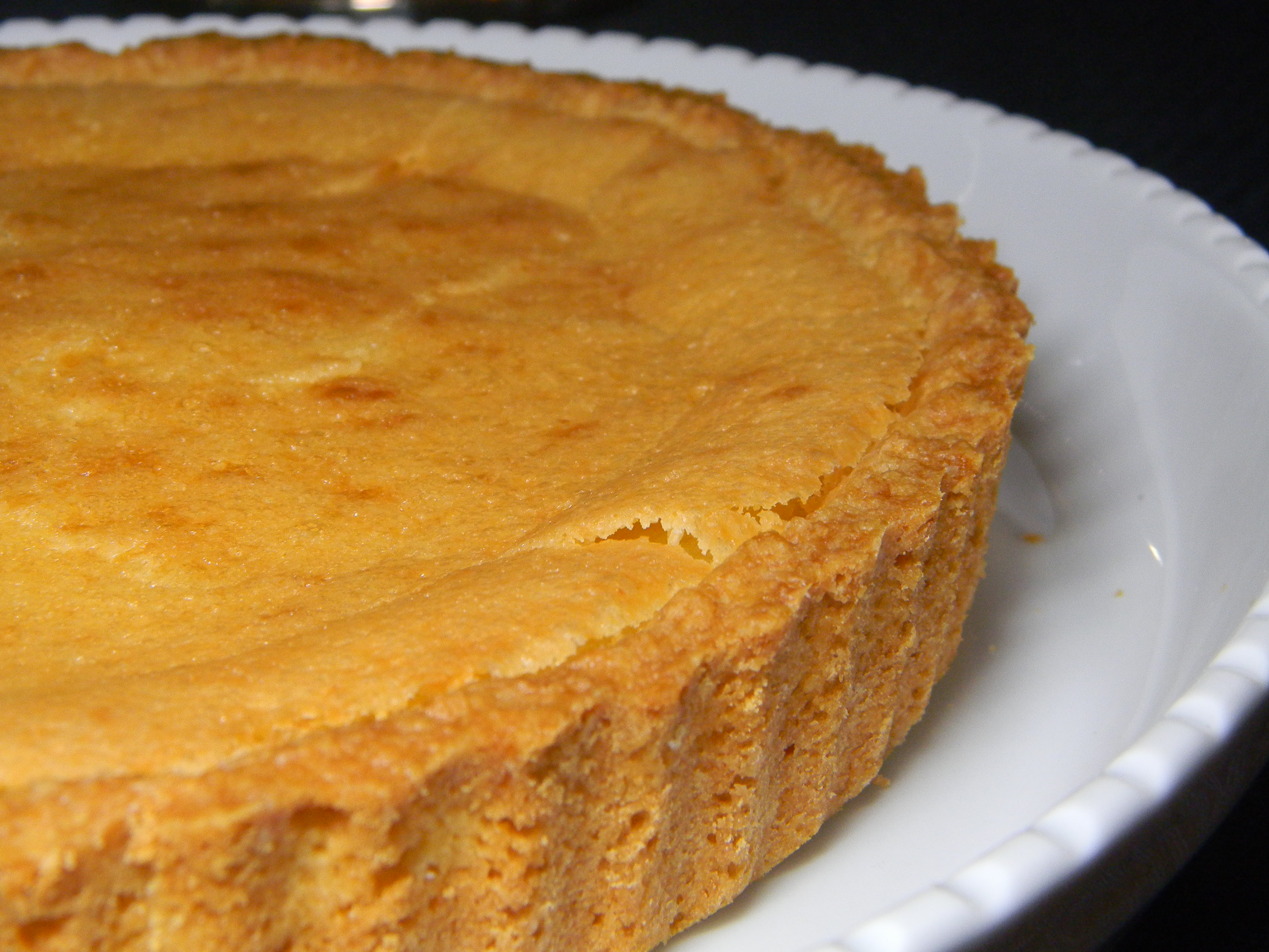 Grapefruit Chess Pie | 2frugalfoodies
